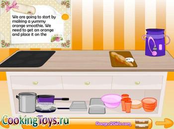 Онлайн игры для девочек готовим еду