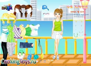 Онлайн игры для девочек одевалки