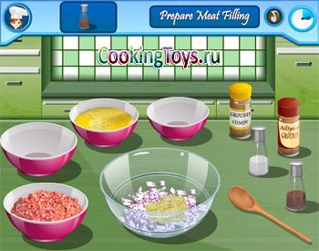 Играть в готовку еды самостоятельно